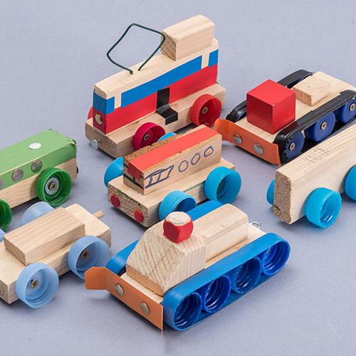 Malý kutil – polytechnika pro předškolní děti / dílna pro děti - výrobek