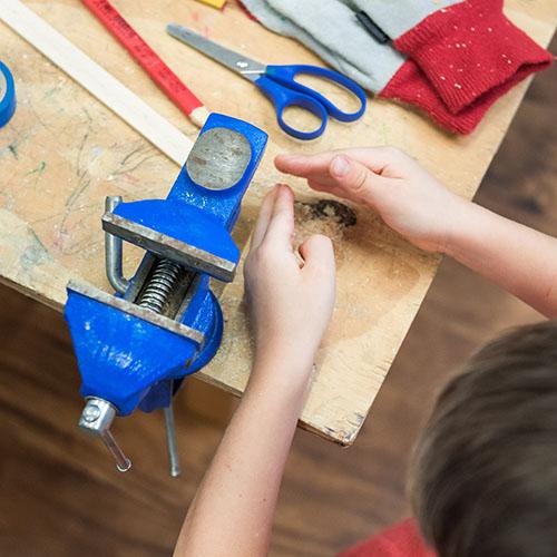 Malý kutil - workshop / polytechnika pro předškolní děti