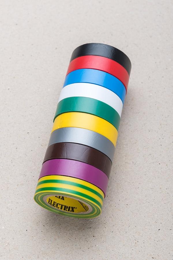 Lepící páska plastová sada 10 barev / Malý kutil – polytechnika pro předškolní děti