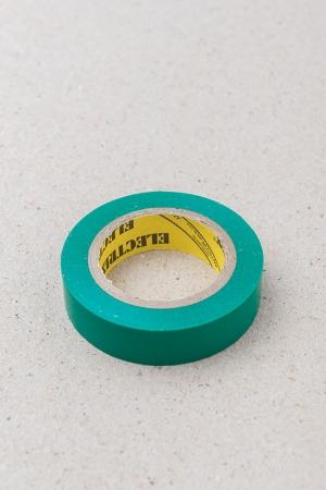 Lepící páska zelená / Malý kutil – polytechnika pro předškolní děti
