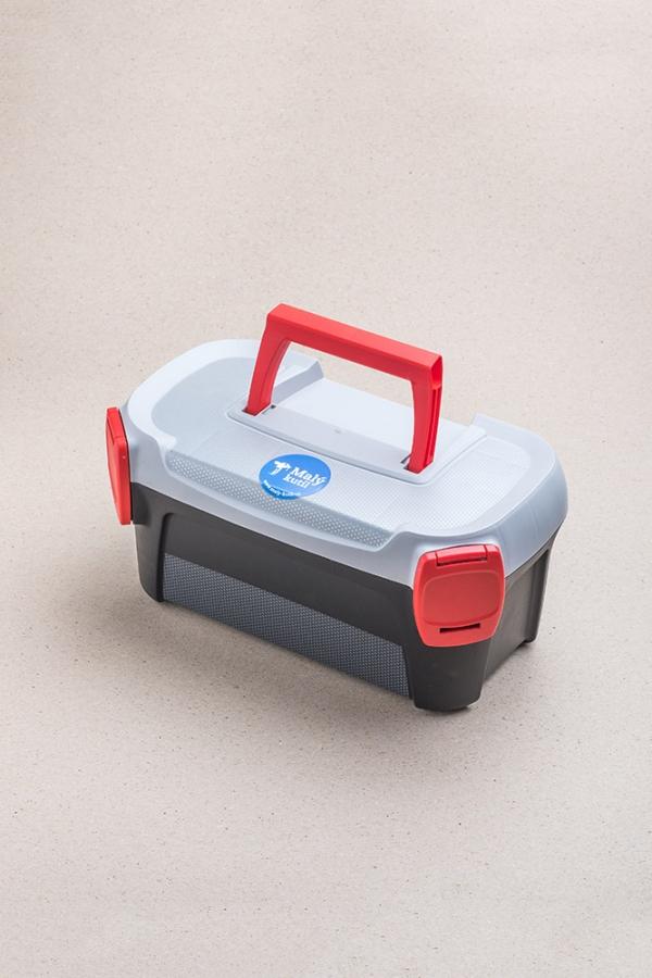 Kufr na nářadí malý / vhodné nářadí pro děti / Malý kutil – polytechnika pro předškolní děti